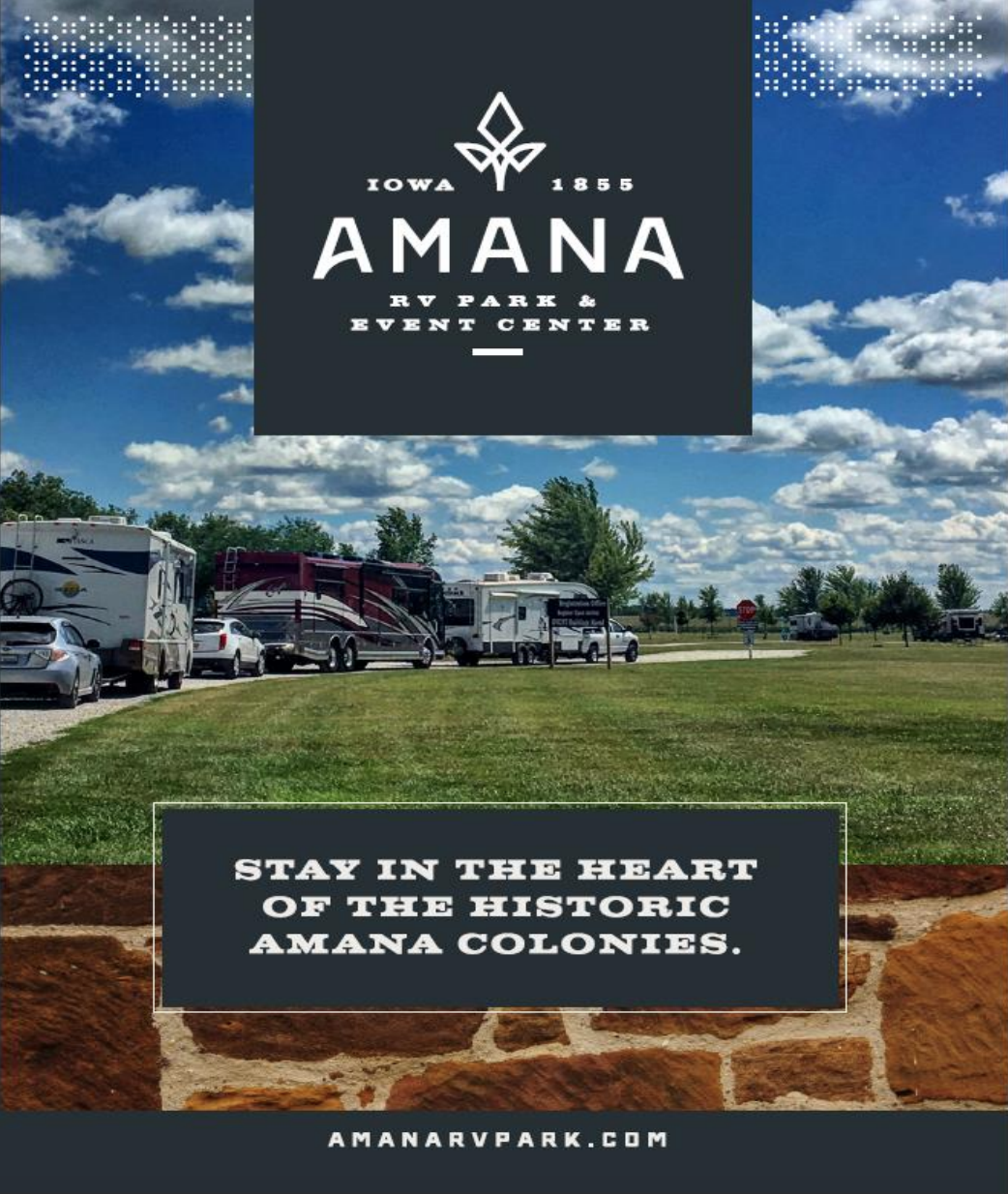 Rally Packet Amana Colonies RV Park